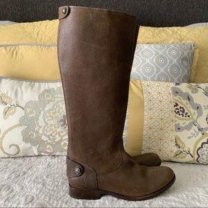 Frye Melissa Button Back Zip Boots Size 8.5